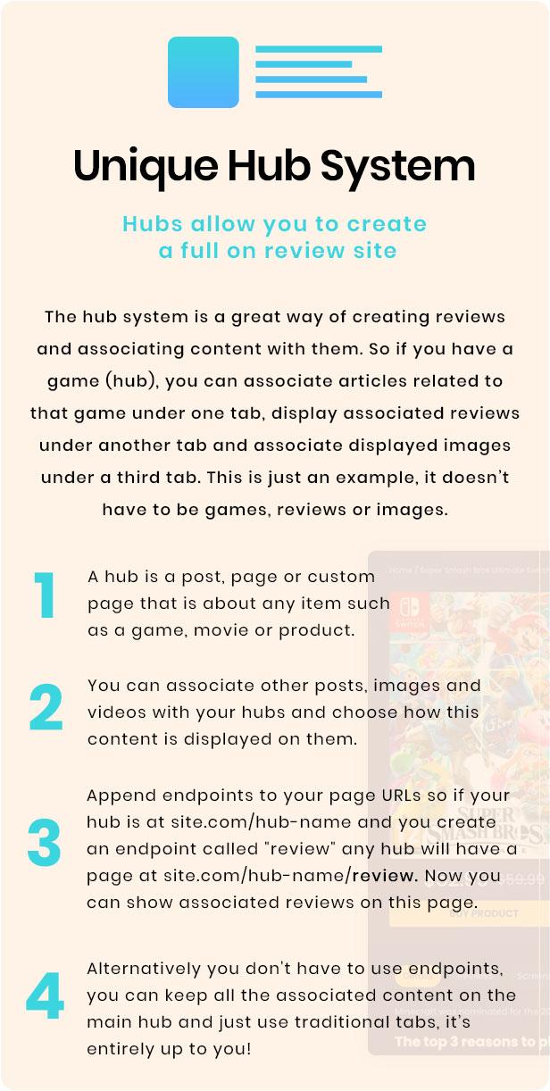 Unique Hub System
